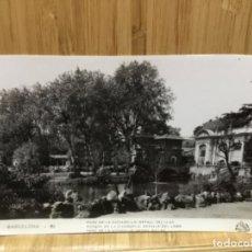 Postales: POSTAL DE BARCELONA.86.PARC DE LA CIUDADELLA.DETALL DEL LLAC.. Lote 195437393