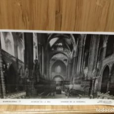 Postales: POSTAL DE BARCELONA.7.INTERIOR DE LA SEU DE LA CATEDRAL.ZERKOWITZ.. Lote 195437461