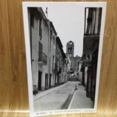 Postales: POSTAL DE BLANES.8.CARRER DEL MOSEN BERNAT BOADAS.EDIT. ARTAU.. Lote 195438152