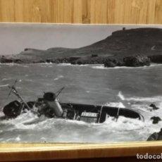 Postales: POSTAL DE BARCO ENCALLADO EN LA ESCALA? 1964. Lote 195438595