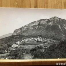 Postales: POSTAL DE TUIXENT.VISTA PARCIAL.FOTO LLOBET. Lote 195438750
