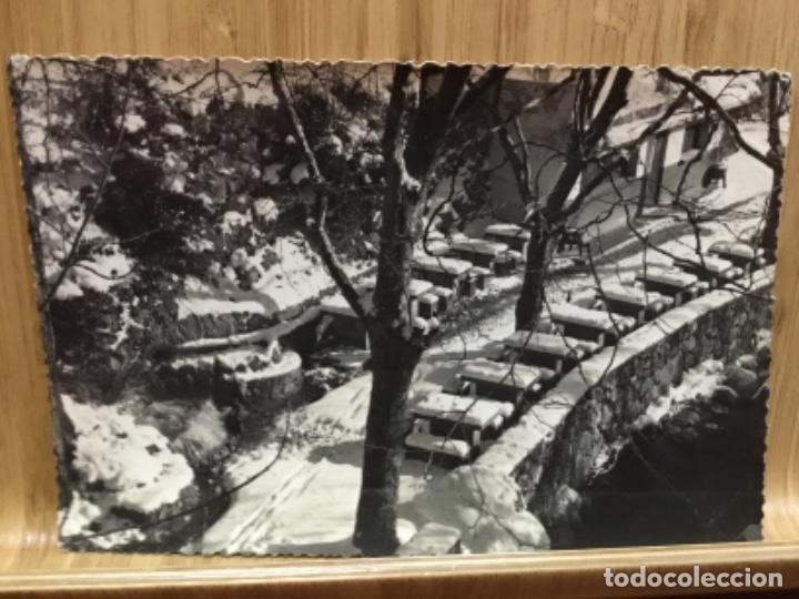 POSTAL DE BERGA.FONT NEGRA.FOTO CINE LUIGI. (Postales - España - Cataluña Moderna (desde 1940))