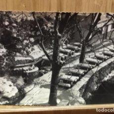 Postales: POSTAL DE BERGA.FONT NEGRA.FOTO CINE LUIGI.. Lote 195438852