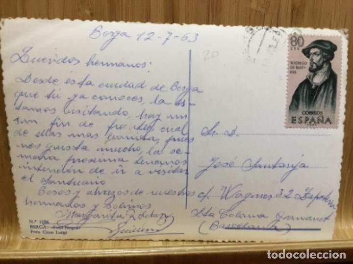 Postales: Postal de berga.font negra.foto cine luigi. - Foto 2 - 195438852