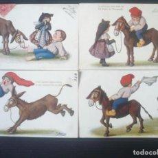 Postales: POSTALS CATALANES PER J .IBÁÑEZ. Lote 195453178