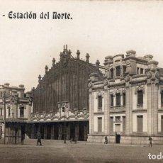 Postales: BARCELONA. ESTACIÓ DEL NORD. FOTOGRÁFICA. Lote 195468126