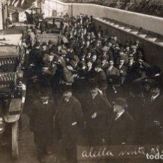 Postales: ALELLA VISITA SINDICAT 1907. FOTOGRÁFICA. Lote 195468238