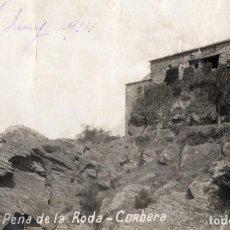 Postales: CORBERA. PEÑA DE LA RODA 1914. FOTOGRÁFICA. Lote 195468470