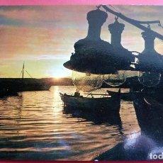 Postales: POSTAL - PALAMÓS - GIRONA - COSTA BRAVA - AÑO 1962 - Nº 216 ATARDECER EN EL PUERTO - SOBERANAS. Lote 195469695