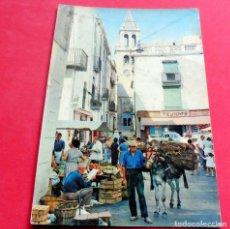 Postales: POSTAL - PALAMÓS - GIRONA - COSTA BRAVA - AÑO 1962 - SERIE Nº 14 - VISTA DEL MERCADO - ZERKOWITZ. Lote 195469827