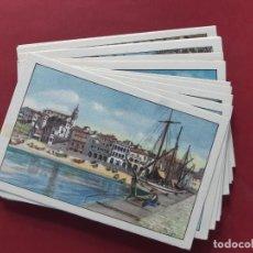 Postales: COLECCION COMPLETA-COSTA BRAVA-19??-20 POSTALES-VER FOTOS.SIN CIRCULAR. Lote 195476971