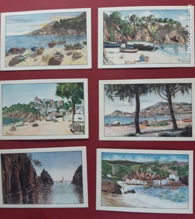 Postales: COLECCION COMPLETA-COSTA BRAVA-19??-20 POSTALES-VER FOTOS.SIN CIRCULAR - Foto 3 - 195476971