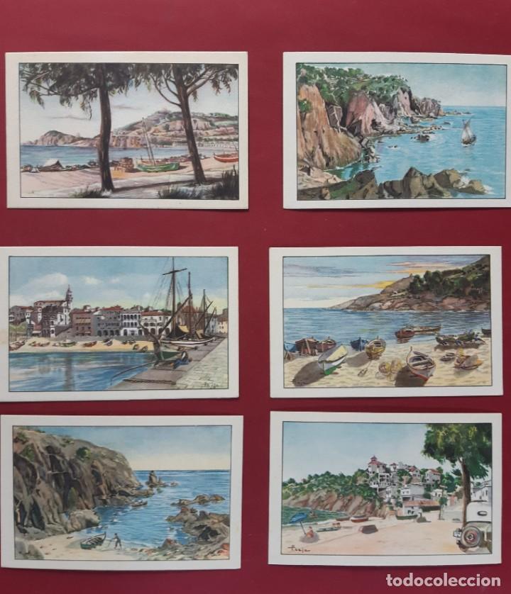 Postales: COLECCION COMPLETA-COSTA BRAVA-19??-20 POSTALES-VER FOTOS.SIN CIRCULAR - Foto 5 - 195476971