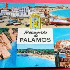 Postales: POSTAL - PALAMÓS - GIRONA - COSTA BRAVA - AÑO 1962 - Nº 83 - RAKER. Lote 195482031