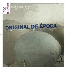 Postales: (PS-63098)POSTAL FOTOGRAFICA DE BARCELONA-CURSO AEROSTATICO 1907. Lote 195499046