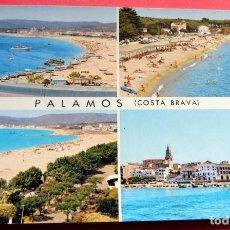 Postales: POSTAL - PALAMÓS - GIRONA - COSTA BRAVA - AÑO 1964 - Nº 30 - GARCIA GARRABELLA. Lote 195512285