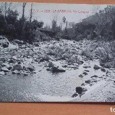 Postales: POSTAL - BARCELONA - LA GARRIGA - RIO CONGOST - POSTAL CIRCULADA. Lote 195537460