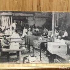 Postales: POSTAL DE TORRE MELINA.CONSTRUCCION DE INCUBADORAS.19.. Lote 195537910