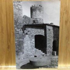 Postales: POSTAL DE TALAMANCA.PATIO DEL CASTILLO.11.EDICIONES VERT MANRESA.. Lote 195538372