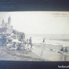 Postales: SITGES-BAÑOS-L.ROISIN. Lote 195540803