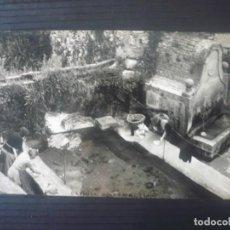 Postales: ESPLUGA DE FRANCOLÍ-LAVADEROS. Lote 195540886
