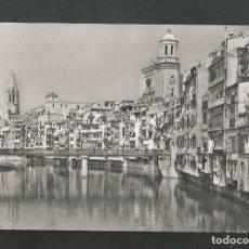Postales: POSTAL CIRCULADA - GERONA 3 - RIO OÑAR - EDITA FISA. Lote 195548133