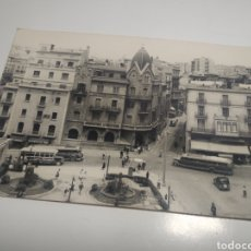 Postales: POSTAL FOTOGRÁFICA PLAZA SANT DOMENEC MANRESA. Lote 195608727