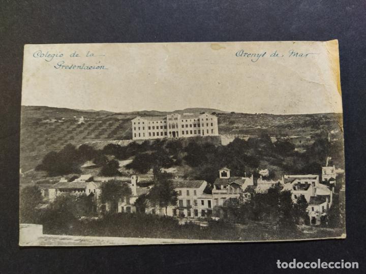 ARENYS DE MAR-COLEGIO DE LA PRESENTACION-POSTAL ANTIGUA-(68.254) (Postales - España - Cataluña Antigua (hasta 1939))