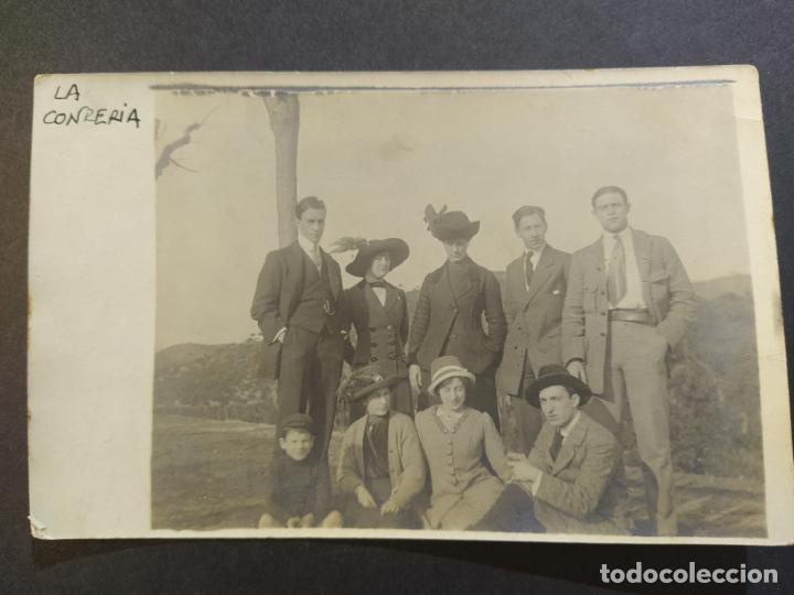BADALONA-LA CONRERIA-POSTAL FOTOGRAFICA ANTIGUA-(68.265) (Postales - España - Cataluña Antigua (hasta 1939))