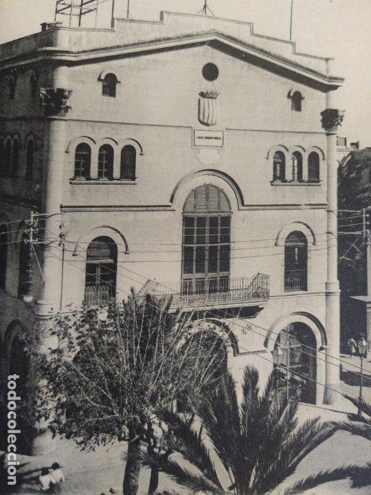 BADALONA-CASA CONSISTORIAL-T.T.-180-POSTAL ANTIGUA-(68.277) (Postales - España - Cataluña Antigua (hasta 1939))