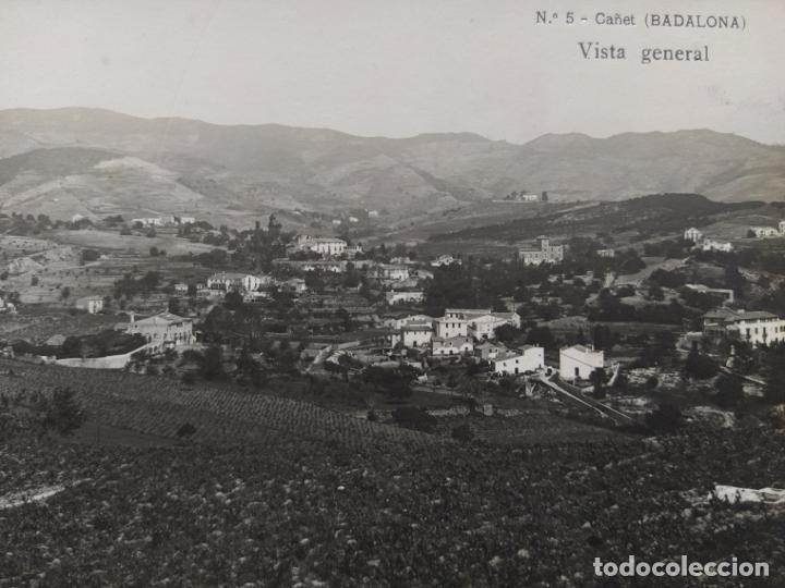 Postales: BADALONA-CAÑET-VISTA GENERAL-FOTOGRAFICA-POSTAL ANTIGUA-(68.278) - Foto 2 - 195767456