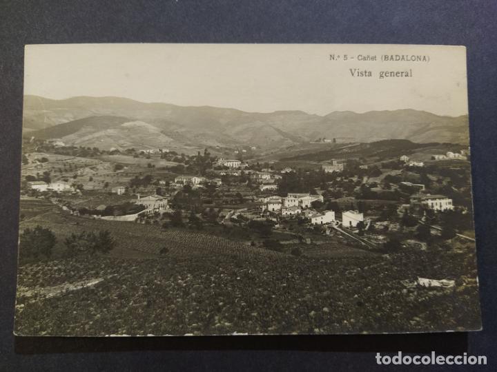 BADALONA-CAÑET-VISTA GENERAL-FOTOGRAFICA-POSTAL ANTIGUA-(68.278) (Postales - España - Cataluña Antigua (hasta 1939))