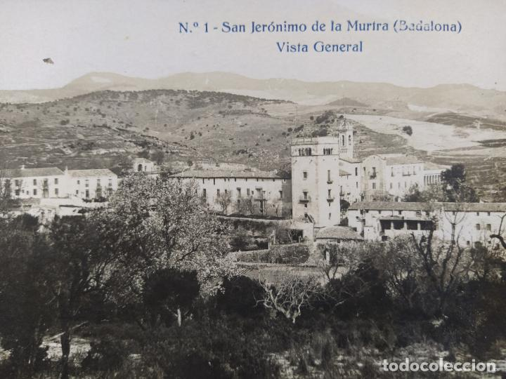 Postales: BADALONA-SAN JERONIMO DE MURTRA-VISTA GENERAL-FOTOGRAFICA-POSTAL ANTIGUA-(68.279) - Foto 2 - 195767523