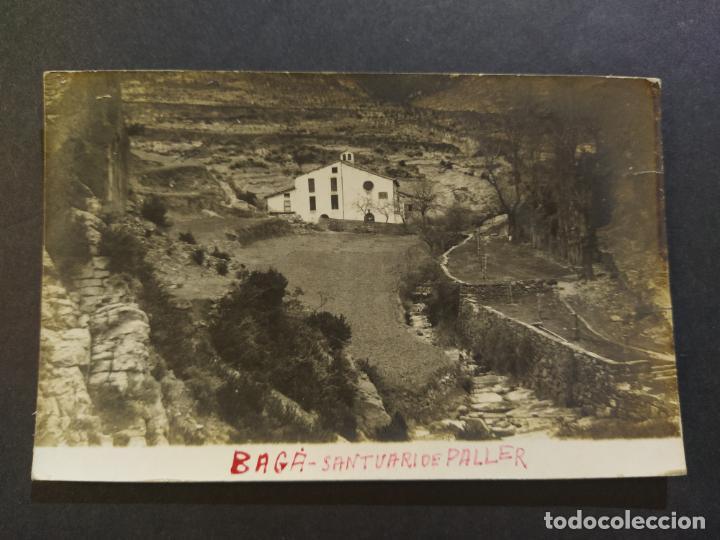 Postales: BAGA-SANTUARI DE PALLER-FOTOGRAFICA-POSTAL ANTIGUA-(68.282) - Foto 2 - 195768251