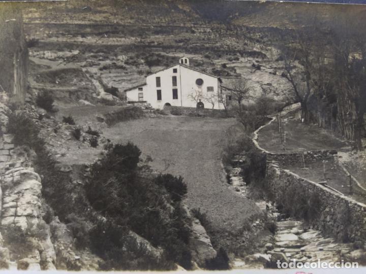 BAGA-SANTUARI DE PALLER-FOTOGRAFICA-POSTAL ANTIGUA-(68.282) (Postales - España - Cataluña Antigua (hasta 1939))