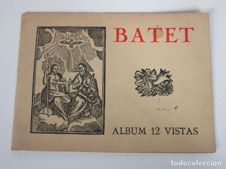 ÁLBUM 12 VISTAS - LIBRITO POSTAL - OLOT BATET - CARLES DE BOLÓS - MAYO 1949 (Postales - España - Cataluña Antigua (hasta 1939))