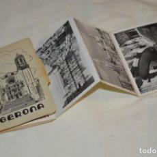 Postales: BLOC DE GERONA / 10 POSTALES - GARCÍA GARRABELLA Y COMPAÑÍA - ¡MIRA FOTOS Y DETALLES!. Lote 196307290