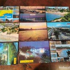 Postales: 9 POSTALES DE SALOU, KOORHAM, RAYMOND, FOTO SEGU. Lote 196512611