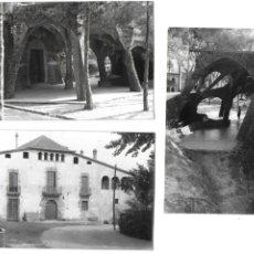 Postales: P-10172. LOTE DE 3 POSTALES FOTOGRAFICAS COLONIA GÜELL. MEDIADOS S.XX. . Lote 196874692