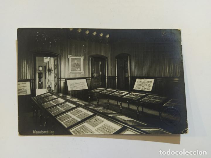 Postales: BARCELONA-MUSEUS ART I ARQUEOLOGIA-NUMISMATICA-SELLO EN SECO-POSTAL FOTOGRAFICA ANTIGUA-(68.695) - Foto 2 - 196912813