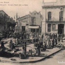 Postales: MOLLET. PLAZA PRAT DE LA RIBA. BOSCH. Lote 197220027
