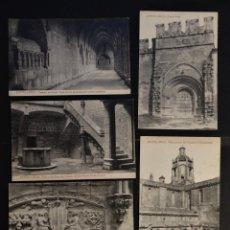 Postales: 7 ANTIGUAS POSTALES DE SANTES CREUS (TARRAGONA), SIN CIRCULAR. Lote 197345411