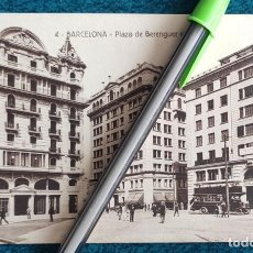Postales: POSTAL BARCELONA. PLAZA DE BERENGUER EL GRANDE. Lote 197404880