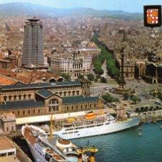 Postales: BARCELONA PUERTA DE LA PAZ. Lote 197576445