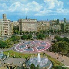 Postales: BARCELONA PLAZA DE CATALUÑA. Lote 197577067