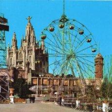 Postales: BARCELONA PARQUE DE ATRACCIONES. Lote 197578816