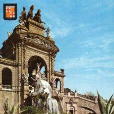 Postales: BARCELONA CASCADA PARQUE DE LA CIUDADELA. Lote 197578942