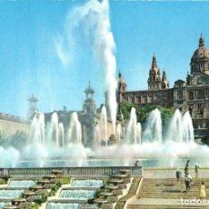 Postales: BARCELONA FUENTE MONUMENTAL LOTE DE 2 POSTALES. Lote 197579121
