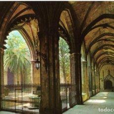 Postales: BARCELONA CLAUSTRO CATEDRAL 2 POSTALES. Lote 197579802