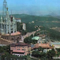 Postales: BARCELONA TIBIDABO 2 VISTAS. Lote 197582235